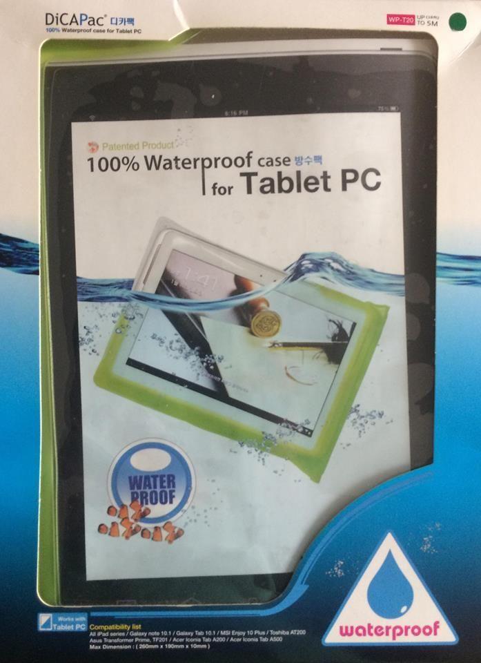 Estuche Acuático WP- T20 para Tablet marca DICAPAC
