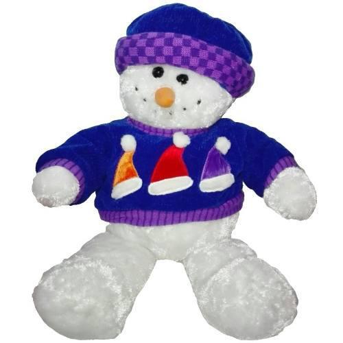 Peluche Hombre Nieve 50cm Dandee Navidad Regalo Amor Muñeco