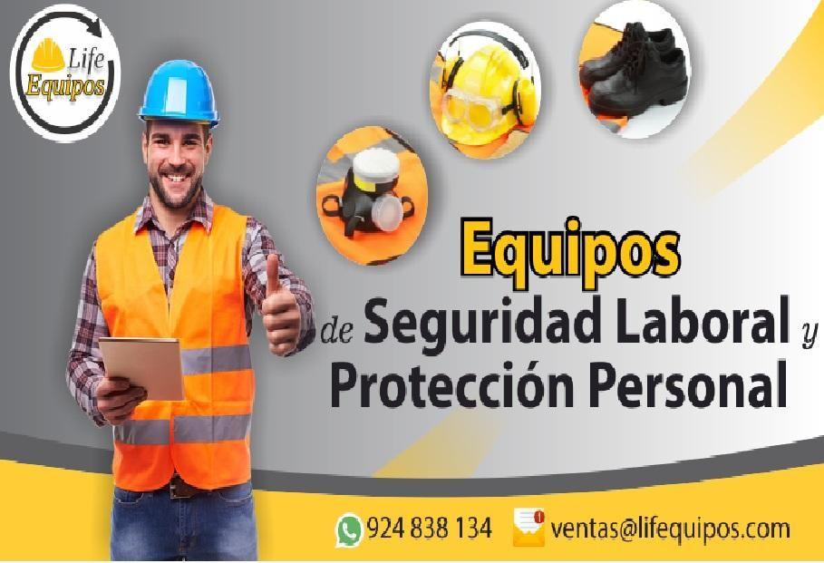 Venta de Equipos de Seguridad Laborar y protección personal