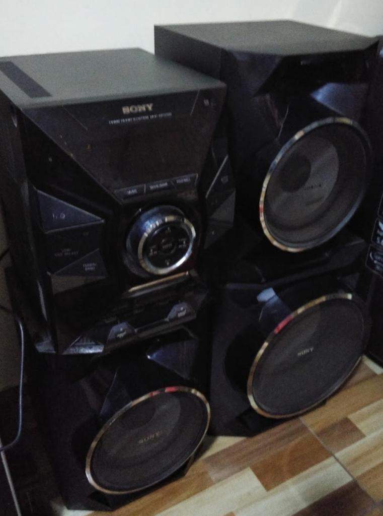 Equipo de sonido sony modelo hcd gpx5g | Posot Class