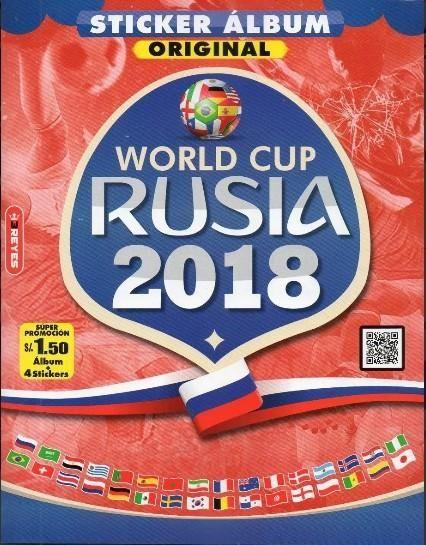 Album Mundial Rusia  Reyes.- Vacio