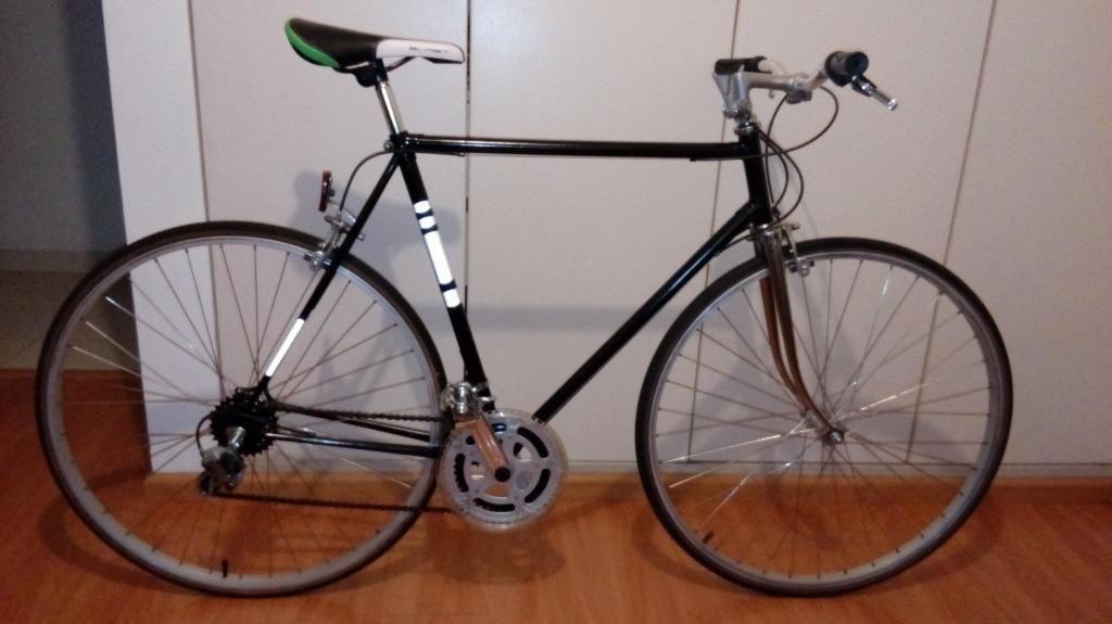 Bicicleta de ruta aro 27 talla L 60cm