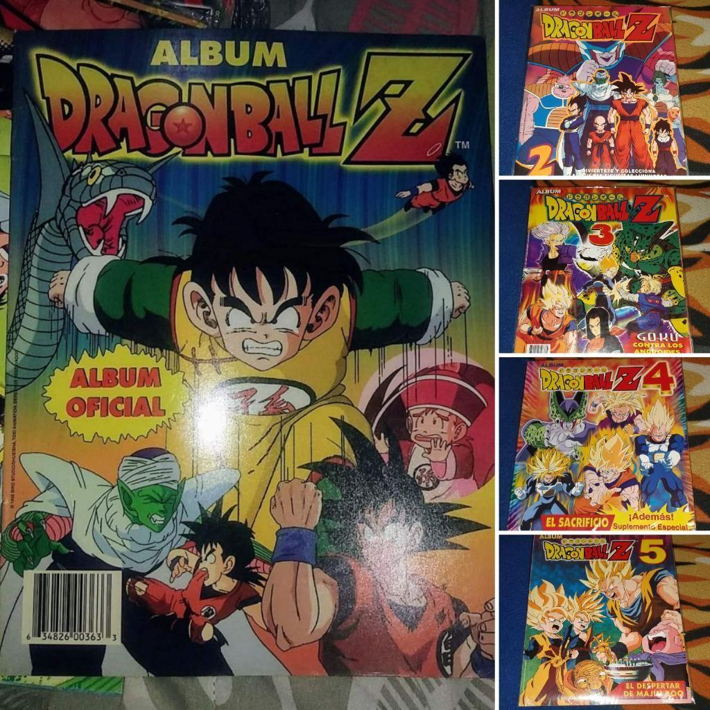 Dragon Ball Z, Lote de 5 Albumes