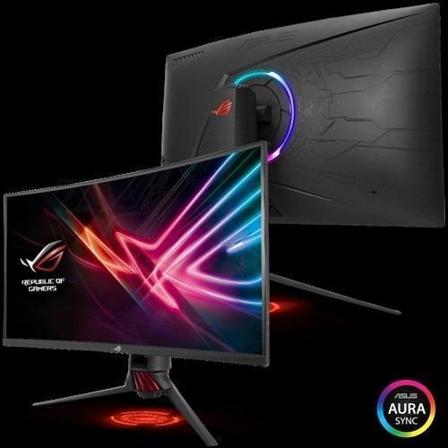 Monitor Gamer Curvo Rog Strix Asus Xg32vq 31.5' Va 4ms 144hz