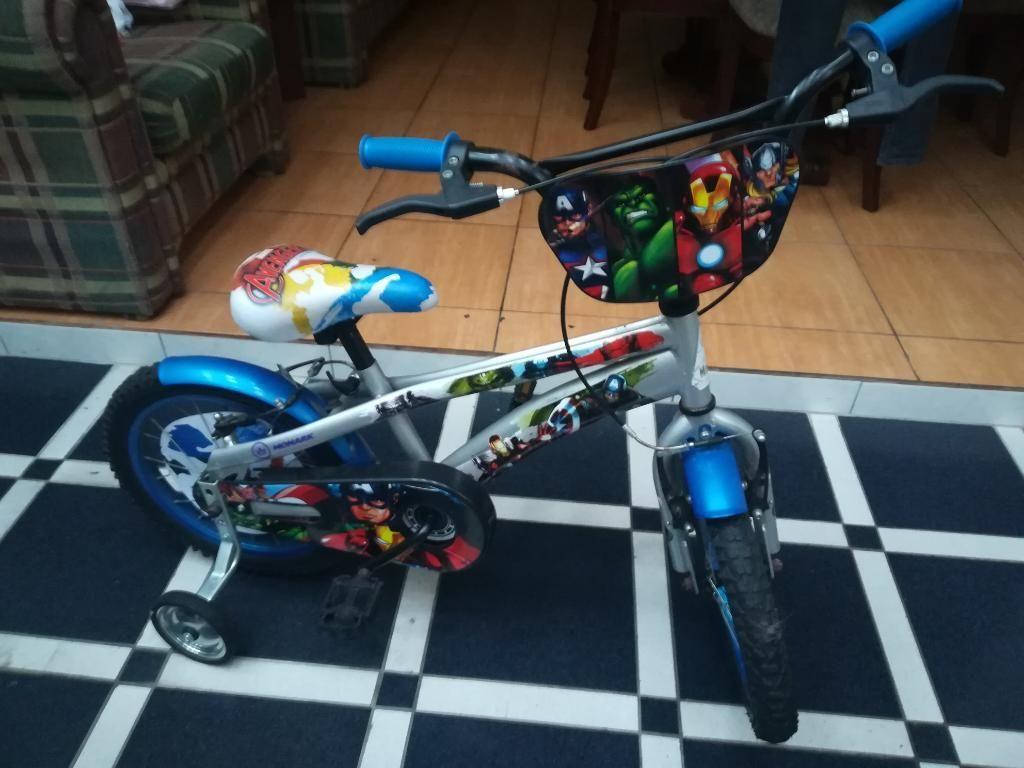 Vendo Bicicleta para Niño Marca Monark
