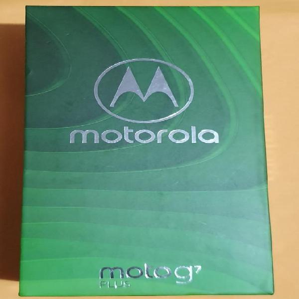 Vendo Motorola G7 Plus Nuevo en Caja
