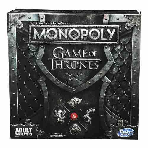 Monopolio Game Of Thrones Hasbro Usa Remate Ultimo Stock