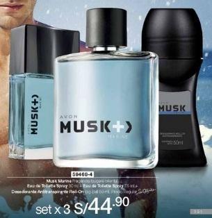 Musk Marine (mini perfume perfume desodorante roll on)