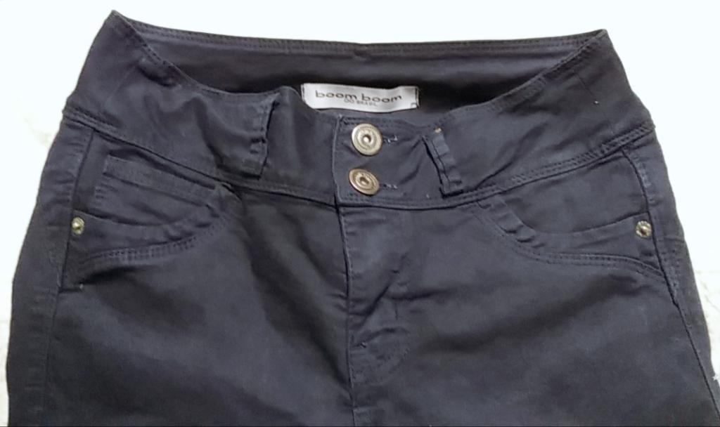 Pantalón Drill Azul Marino Talla 28