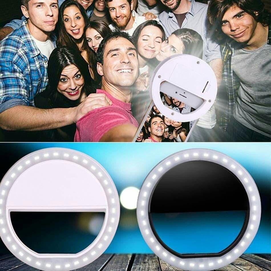 ?Selfie Ring Anillo De Luzflash Led Para Iluminar Tus Fotos