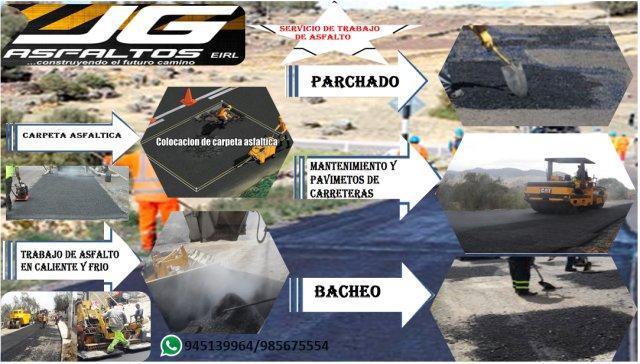 trabajo de asfaltado en lima y provincia