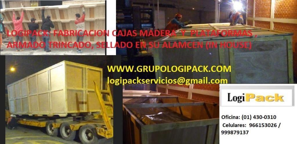 Embalajes de Madera,PARIHUELAS DE MADERA