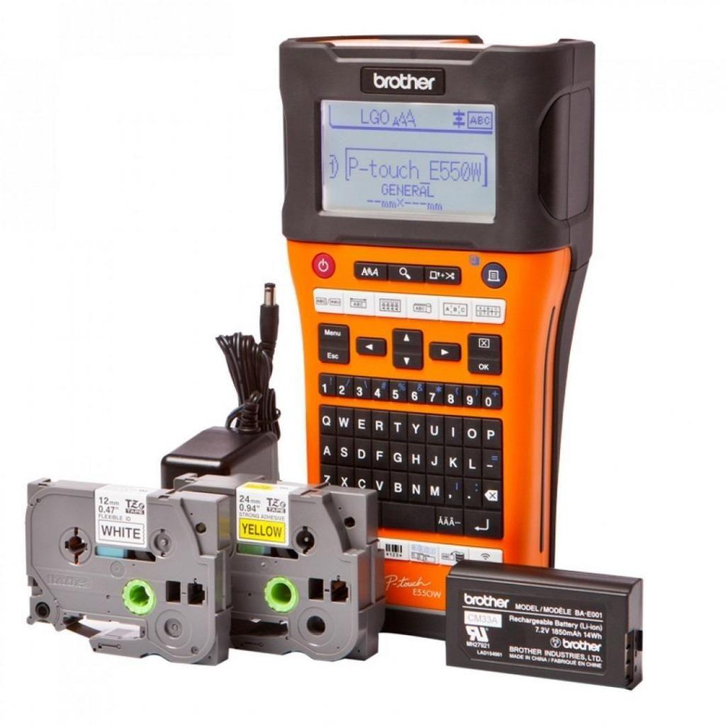 Brother Rotuladora Industrial PTE550WVP Naranja