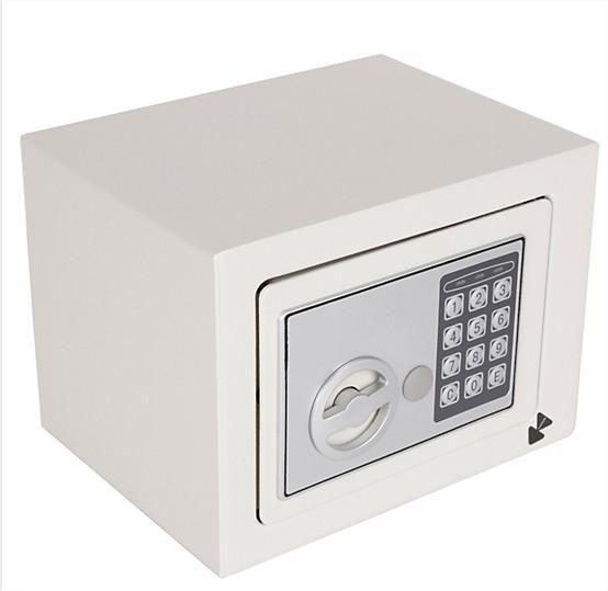 Caja Fuerte De Seguridad Electronica Digital 23x17x17cm 4.2l