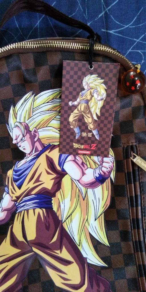 Mochilas de Dragon Ball Z X Sprayground