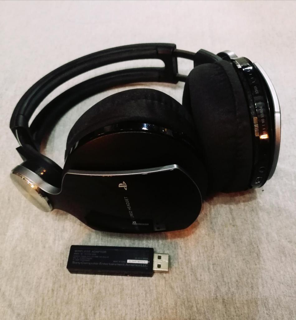 Audifonos Pulse Wireless Headset Bass Inalambricos Sony PS3