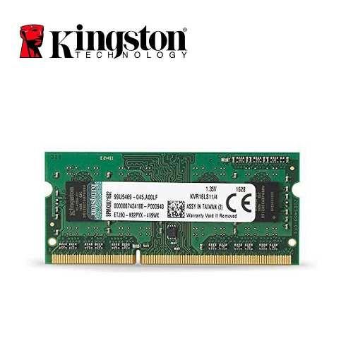 Memoria Kingston 8gb, Ddr3, Sodimm, mhz Laptop/nuevo