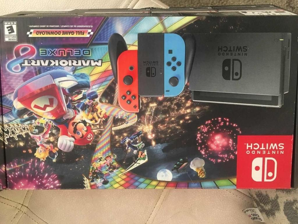 Nintendo Switch edición Mario Kart 8