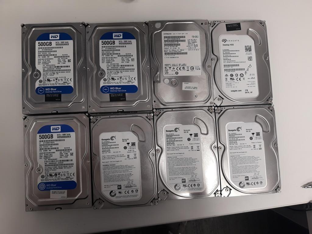 vendo disco duro de 500gb para PC