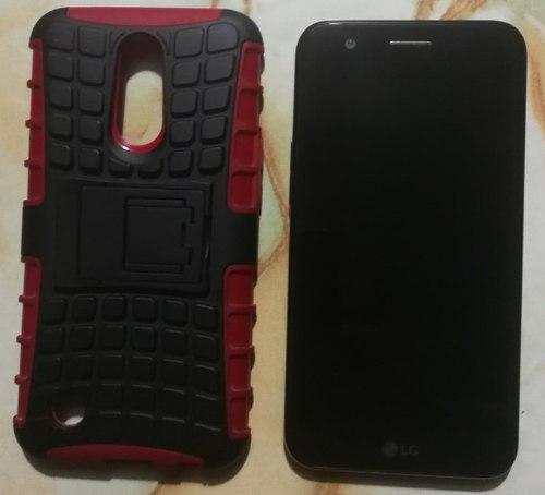 Lg K10 2017 Libre 16gb 2 Gb Ram Con Case Y Caja 10/10