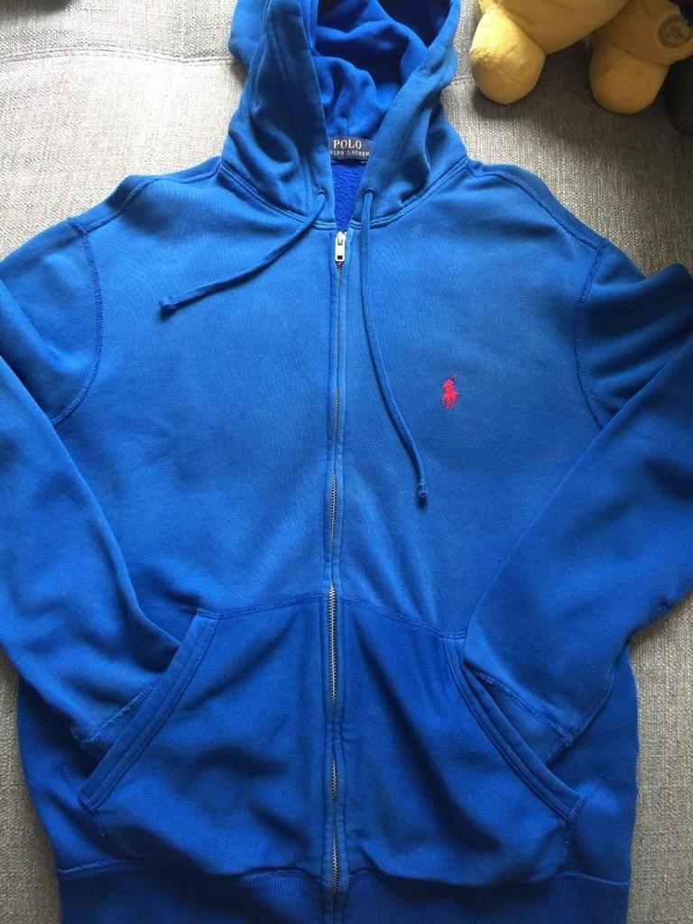 Nuevo (Otro) Polera con capucha Polo Ralph Lauren Talla S
