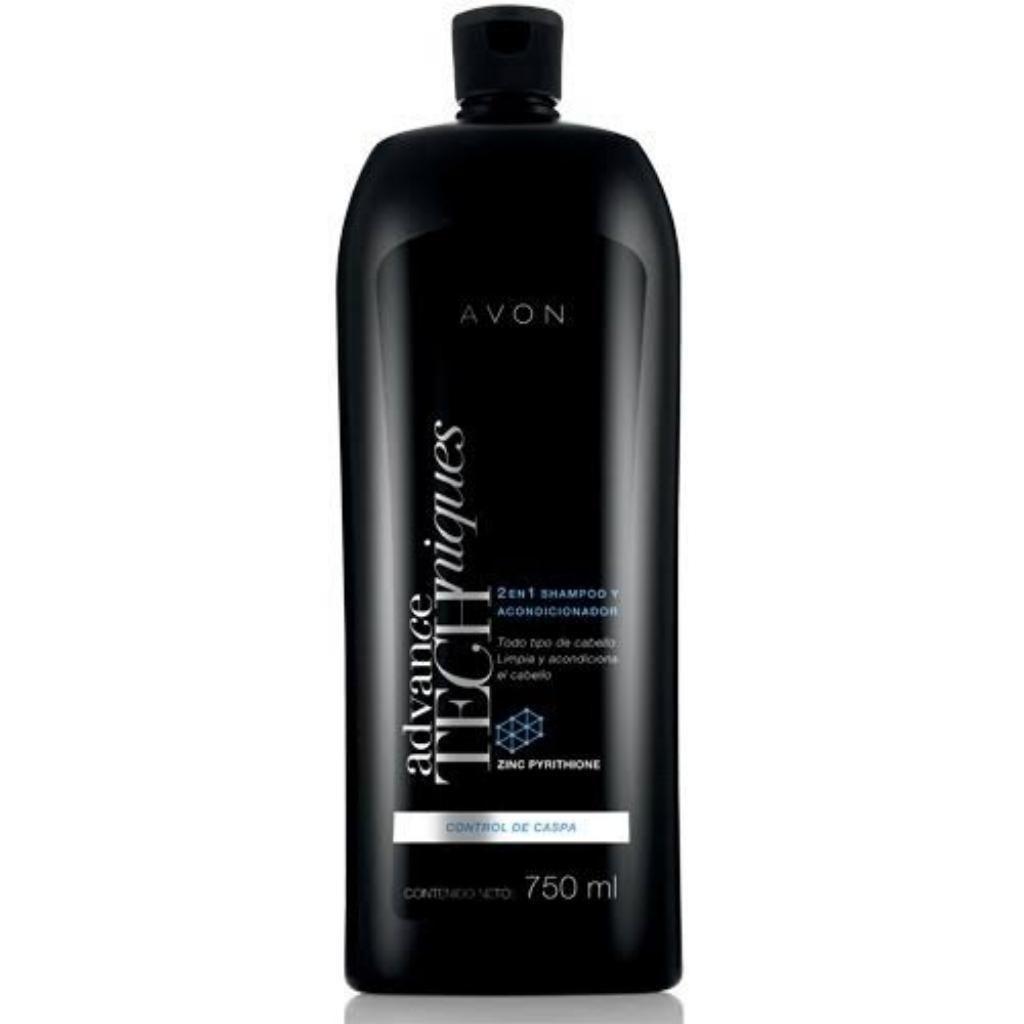 Shampoo Anticaspa 2 en 1 Avon 750 Ml.