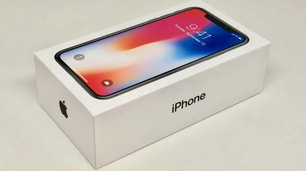 iPhone X 64gb Nuevo en Caja Sellada