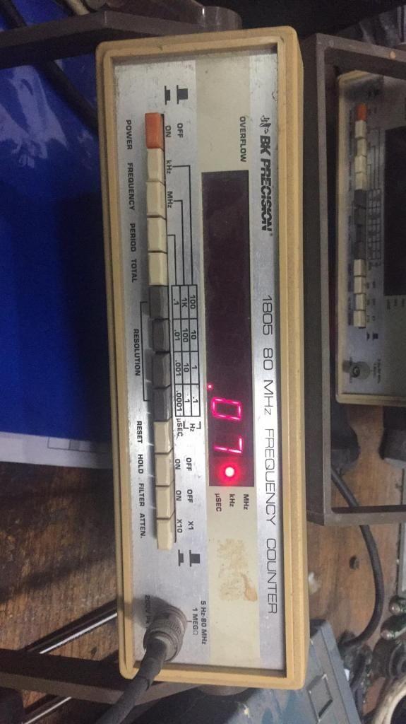 Frecuencimetro Bkprecision Mhz