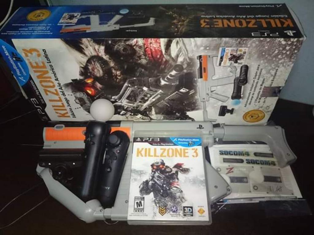 Pack Shooter Killzone Ps3