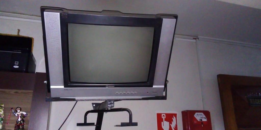 """Remate TV 21"""" S/99 incluye Rack"""