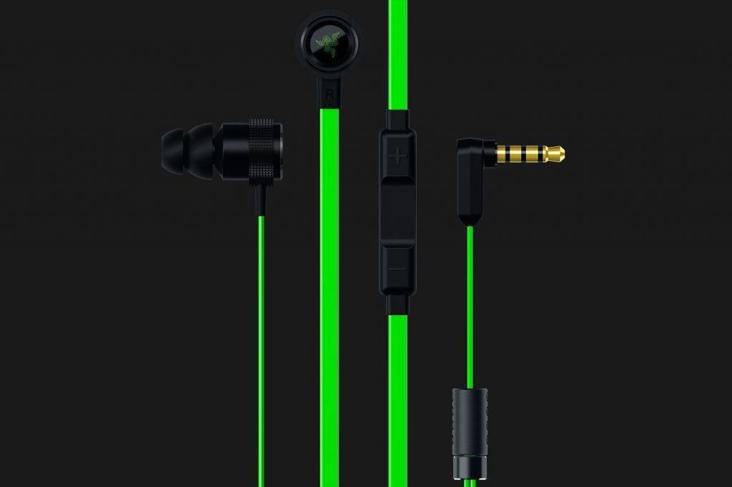 Audífono C/Microf. Razer Hammerhead Pro V2 Black/Green