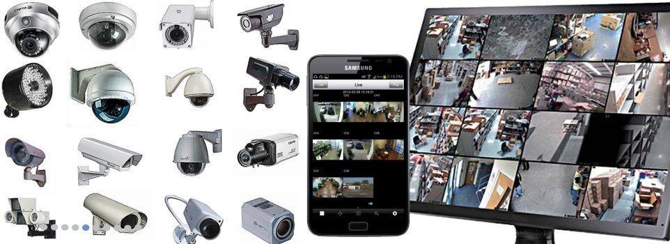 Camaras de Seguridad de 720p A p Full HD Kit,  y