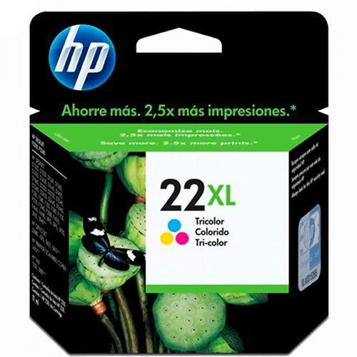 Cartucho de Tinta HP 22Xl Tricolor CCL