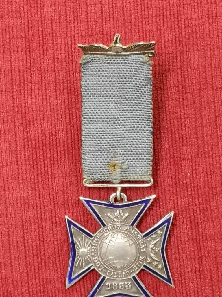 Antigua Medalla Masonica