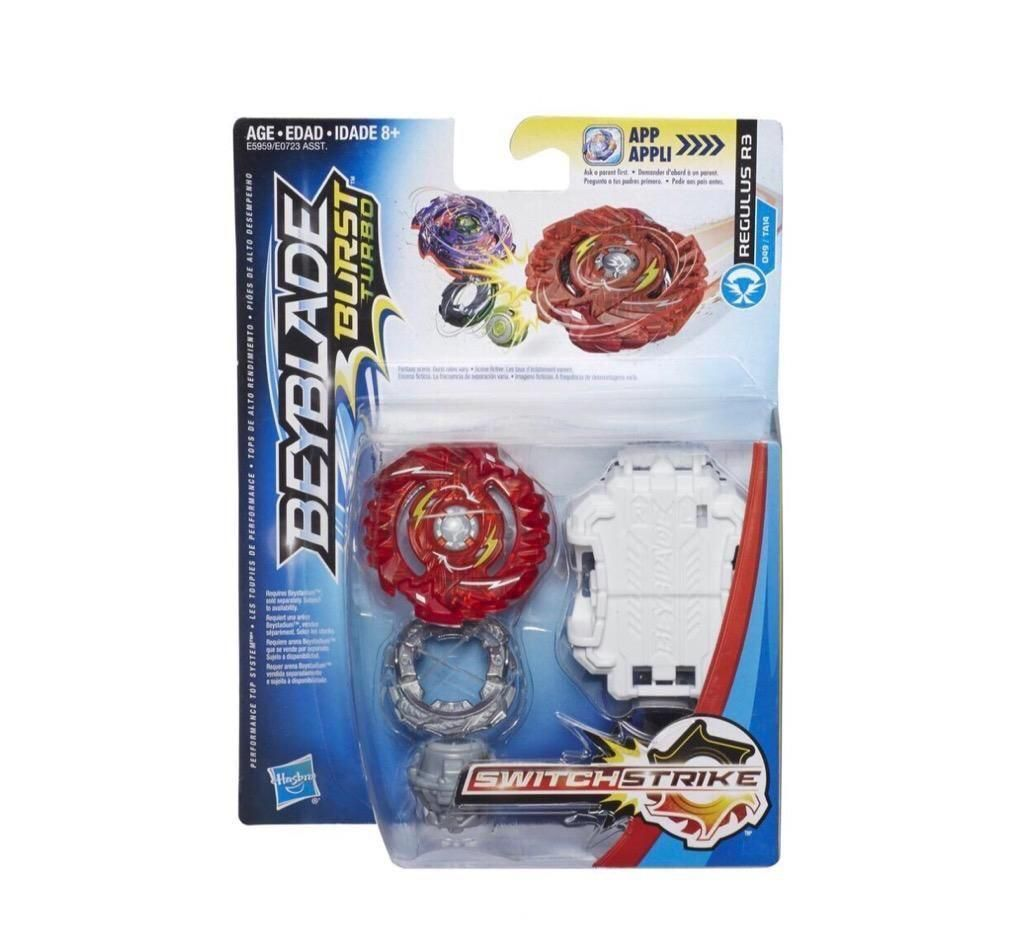 Hbk Beyblade Turbo Switchstrike Regulus