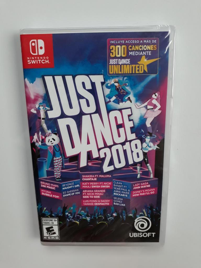 Baile Just Dance  Juego Nintendo Switch Nuevo Y Sellado