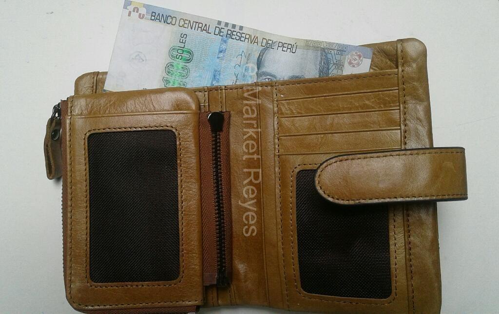 Billetera para Hombre  de Cuero