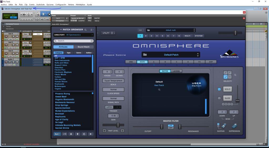 Spectrasonics Omnisphere 2 VST y AAX 64 bits