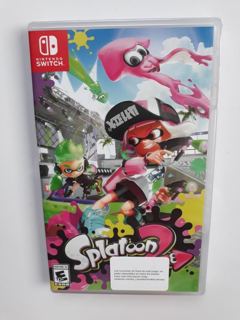 Splatoon 2 Juego Nintendo Switch Nuevo Y Sellado