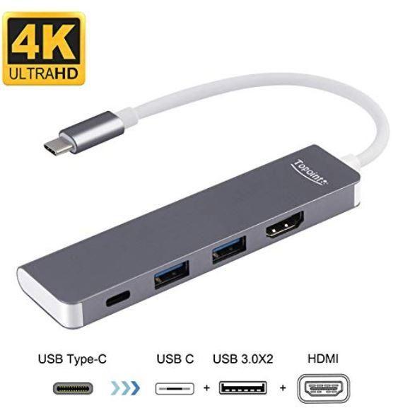 USB C a HDMI adaptador para modo computadora, soporte
