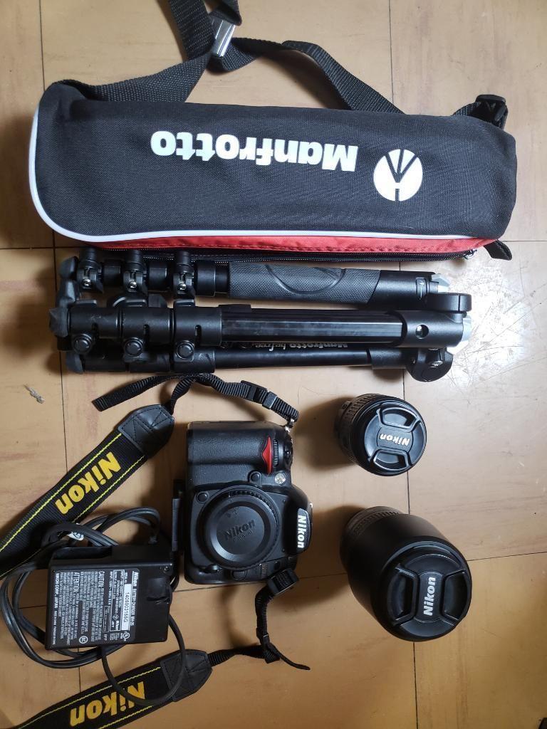 Venta de Nikon D Y Tripode Manfrotto