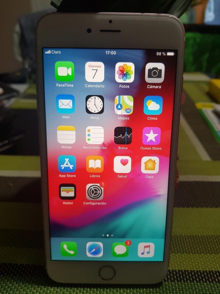 Vendo iPhone 6s Plus de 64gb Rose Gold