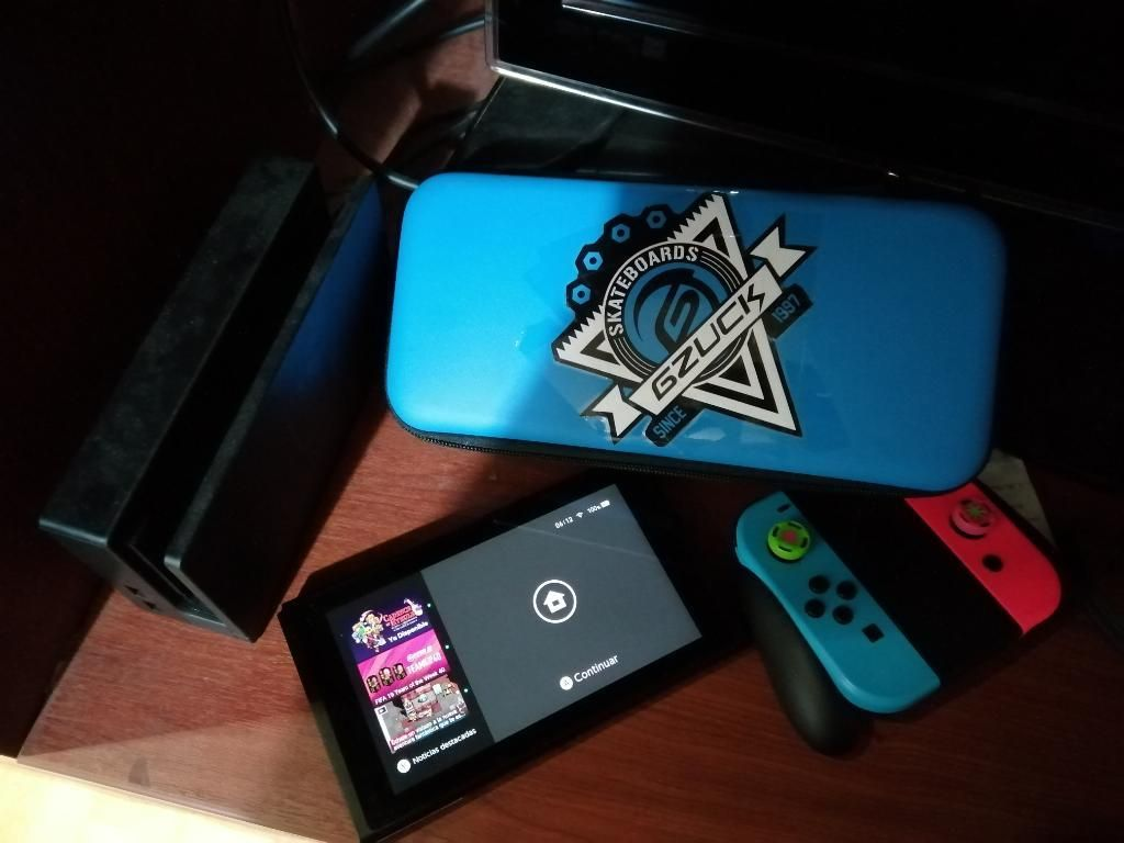 Nintendo Switch Mas Juegos Y Accesorios