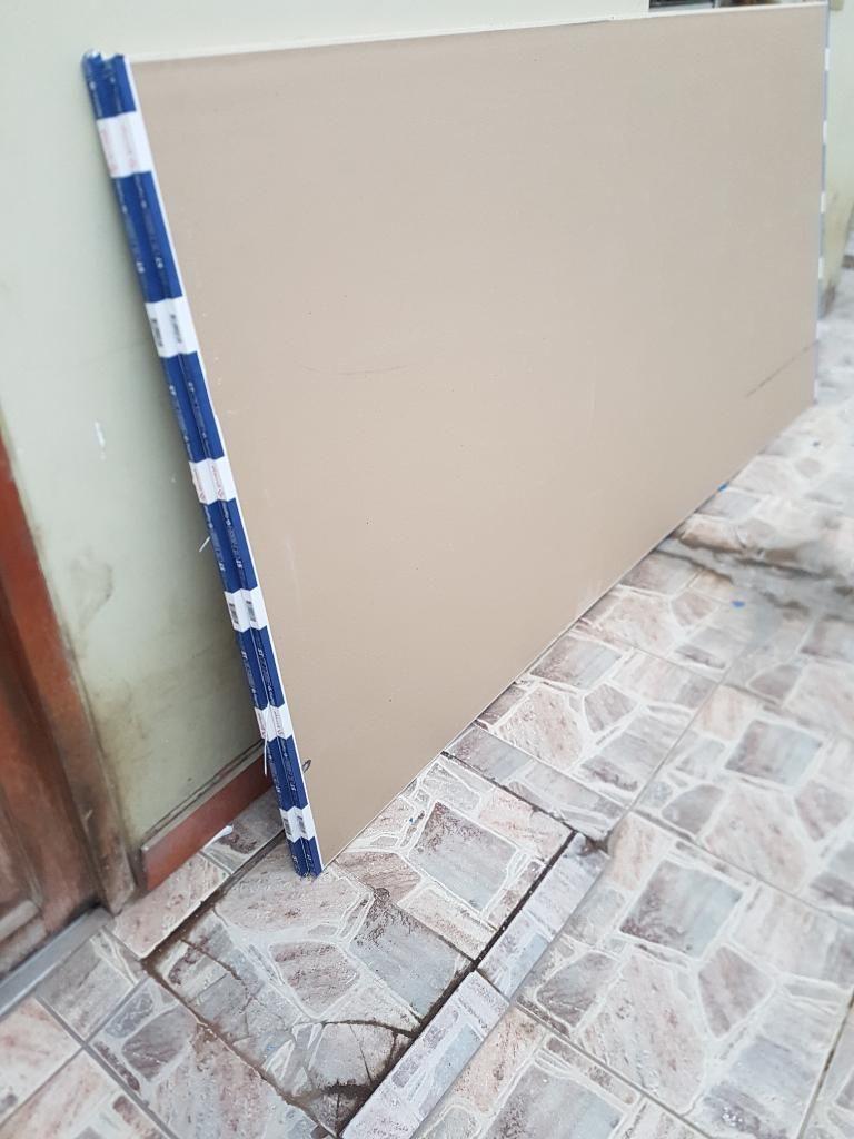 Venta de 04 Planchas D Yeso para Drywall