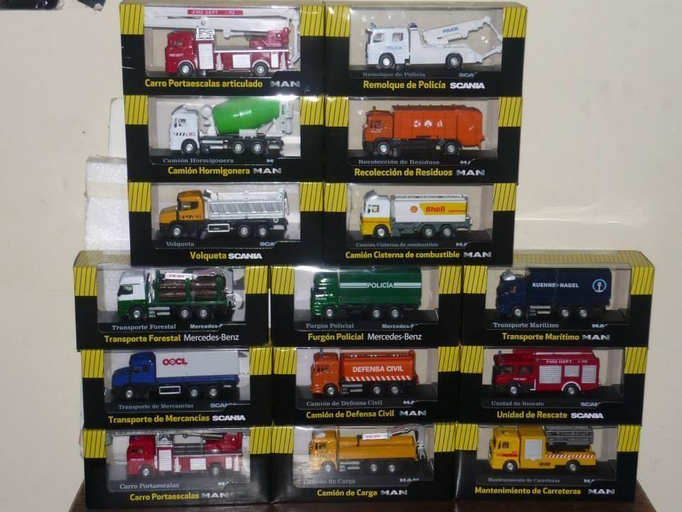 Coleccion de camiones de El Comercio