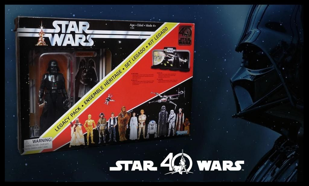 DARTH VADER SPECIAL EDITION / LEGACY PACK / STAR WARS THE