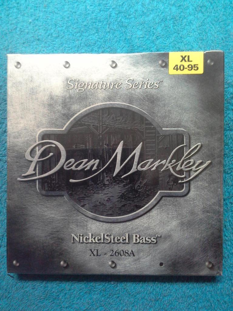 Juego de Cuerdas Para Bajo 4 Cuerdas Dean Markley Made in