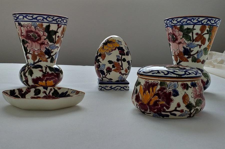 Vendo todo jamas usado en porcelana Francesa, Gien, Limoges