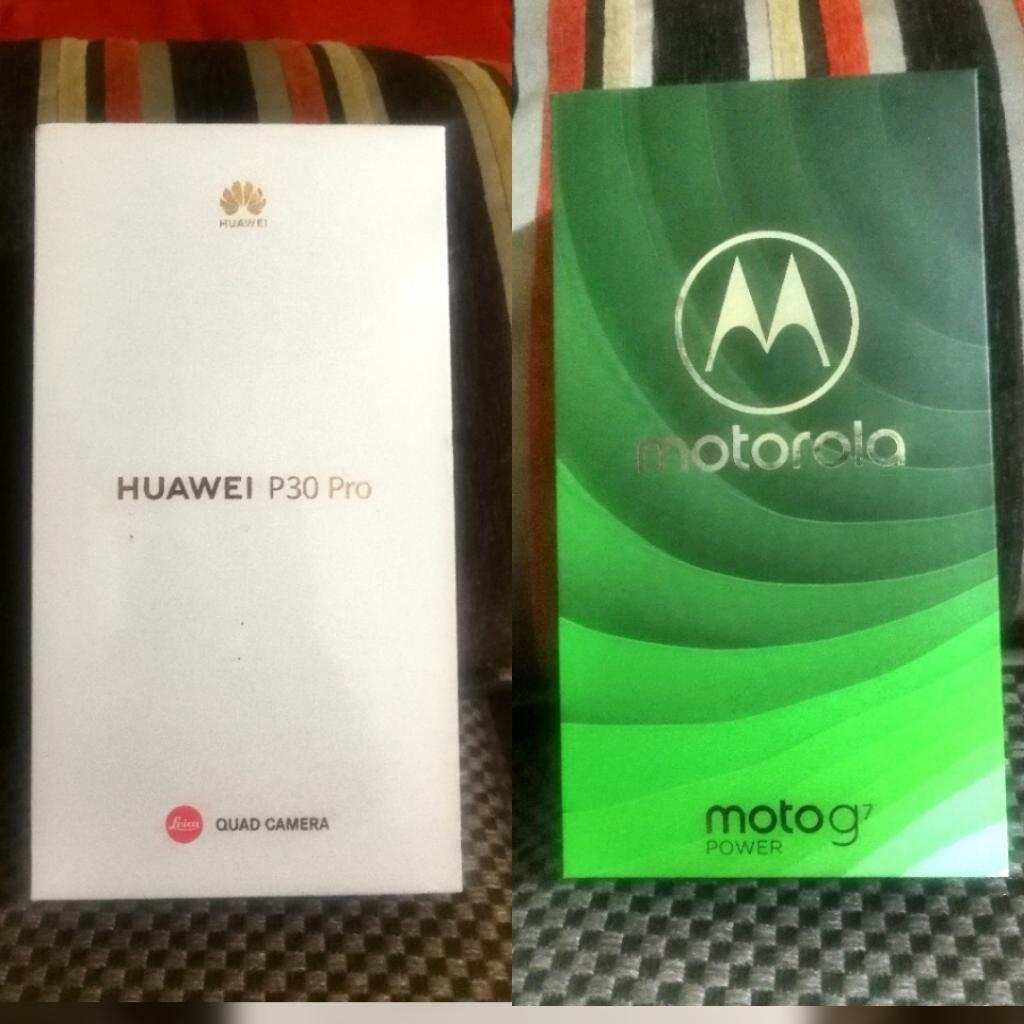 Huawei P30 Pro & Motorola Moto G7 Power