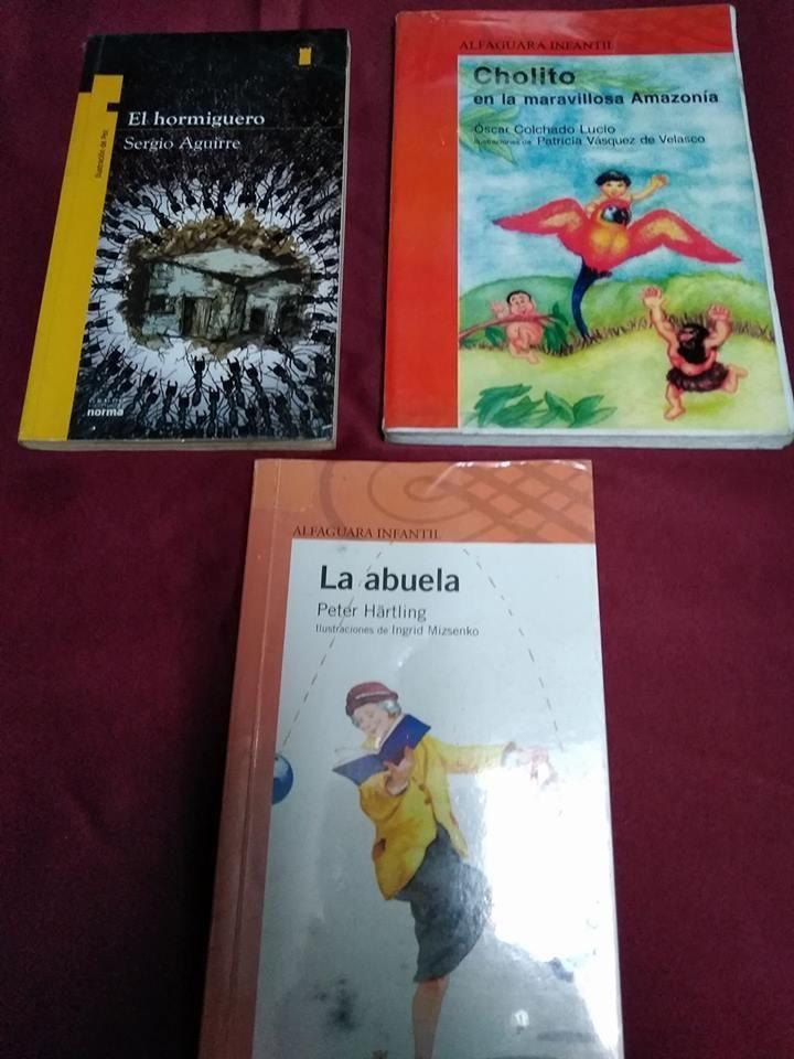 LIBROS DE PLAN LECTOR PRIMARIA Y SECUNDARIA